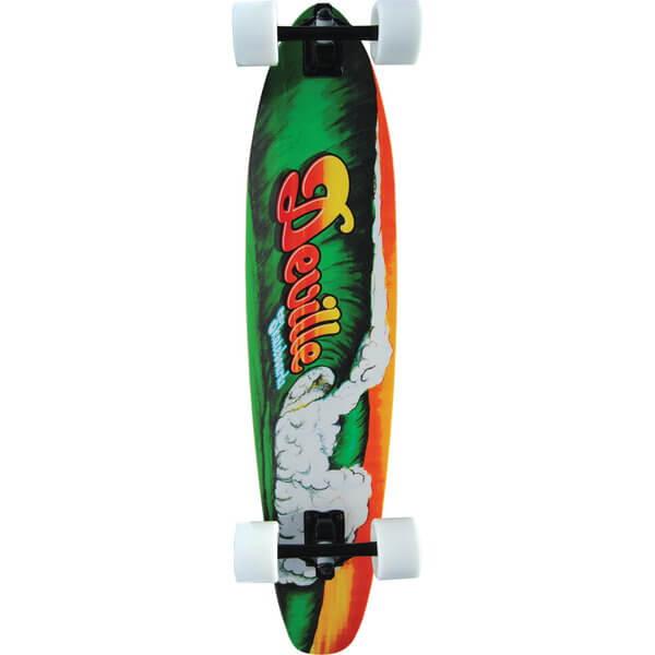 Deville Drain Pipes Complete Longboard Skateboard