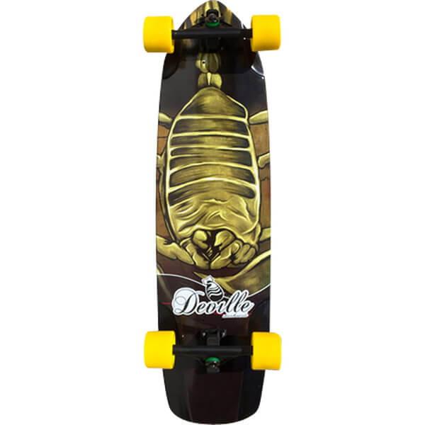 Deville Scorpion Complete Longboard Skateboard