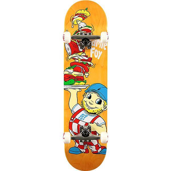 "Deathwish Skateboards Jamie Foy Big Boy Assorted Colors Complete Skateboard - 8"" x 31.75"""