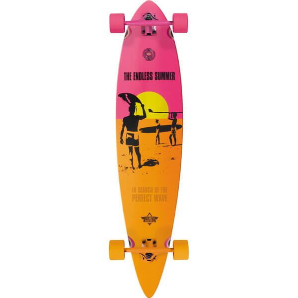 Dusters Endless Summer Complete Longboard Skateboard