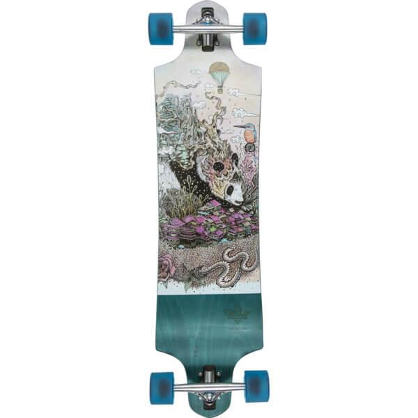 Dusters California Skateboards Giant Green Longboard Complete Skateboard 9 75 X 38 Warehouse