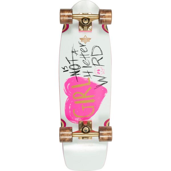 "Dusters California Skateboards GN4LW Cruiser Complete Skateboard - 8.75"" x 28.5"""