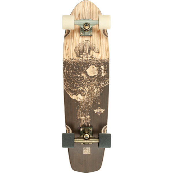 "Dusters California Skateboards Kerby Cruiser Complete Skateboard - 8.25"" x 31"""