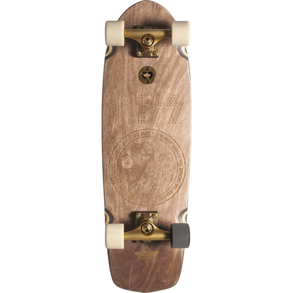 "Dusters California Skateboards Kiss Cruiser Natural Cruiser Complete Skateboard - 8.75"" x 29.5"""