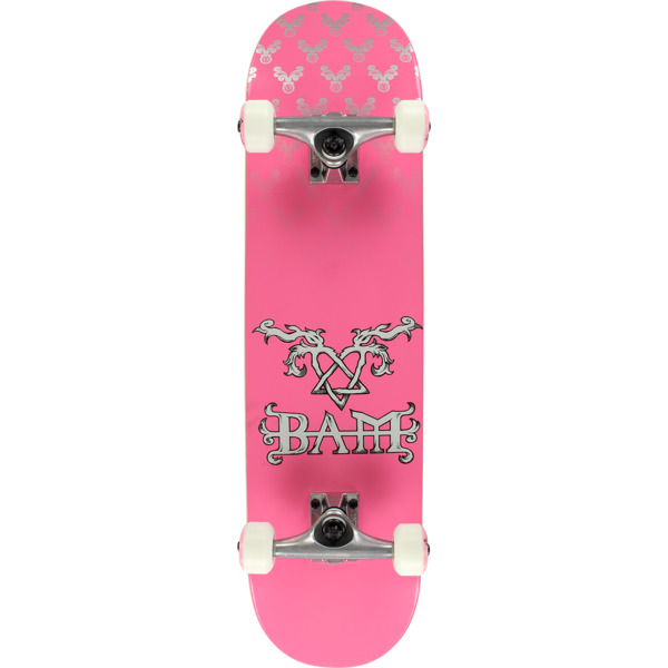 Element Skateboards Bam Margera Heartagram Pink Complete Skateboard - 8 x  32.06 - Warehouse Skateboards 9c157de8fe2