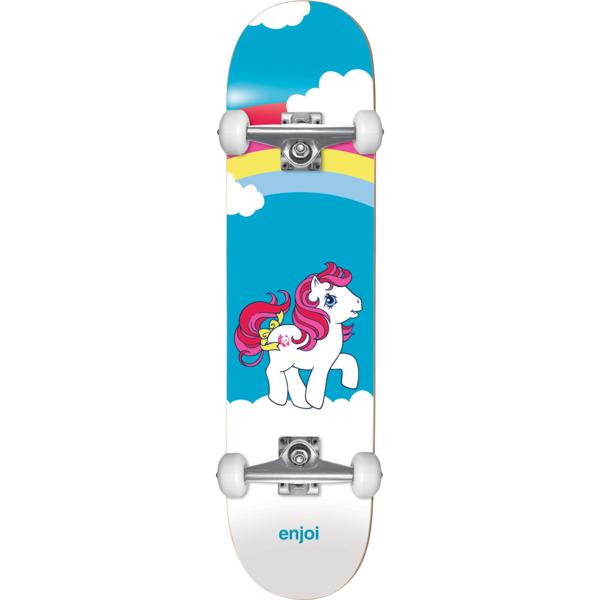 "Enjoi Skateboards My First Pony Micro Complete Skateboard Soft Top - 6.75"" x 27"""