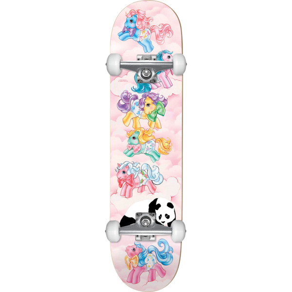 "Enjoi Skateboards My First Pony Pink Mini Complete Skateboard - 7.25"" x 29.2"""