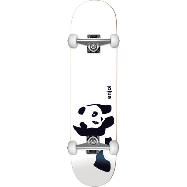 "Enjoi Skateboards Whitey Panda Micro Complete Skateboard Softtop - 6.75"" x 28.25"""