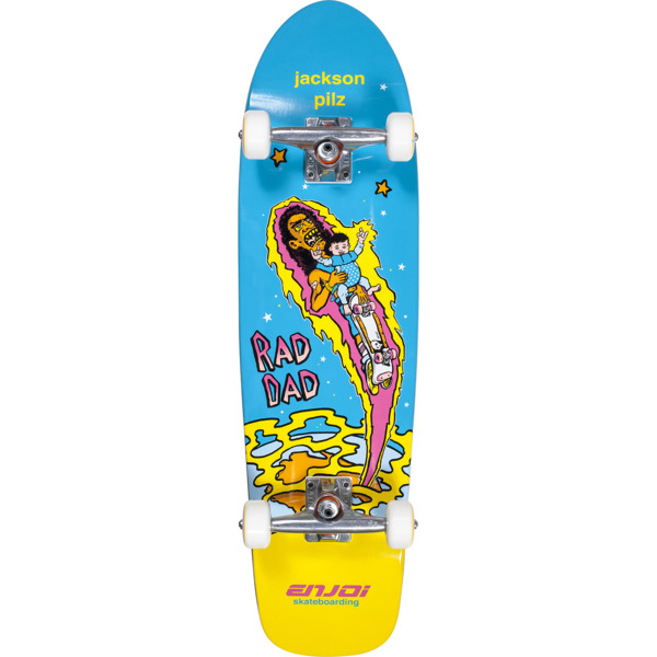 "Enjoi Skateboards Jackson Pilz Jacko's Cruiser Complete Skateboard - 8.5"" x 32"""
