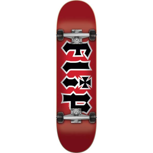 "Flip Skateboards HKD Red Complete Skateboard - 7.75"" x 31.63"""