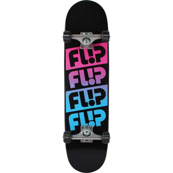 """Flip Skateboards Odyssey Fader Black with Pink / Blue Complete Skateboard - 8"""" x 31.5"""""""