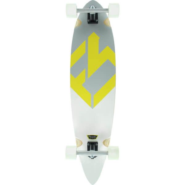 "Focus Classic Longboard Complete Skateboard - 9.75"" x 40"""