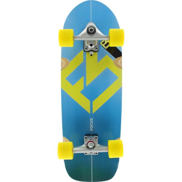 "Focus Kicker Cruiser Complete Skateboard - 10"" x 31"""