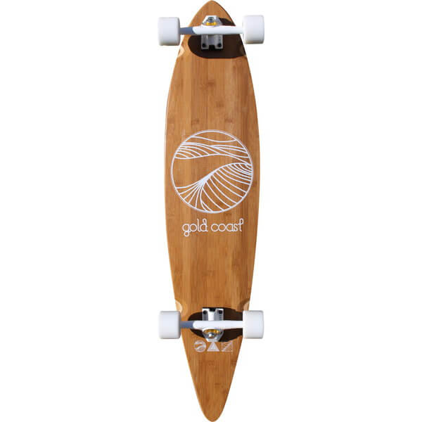 GoldCoast The Classic Floater Complete Longboard Skateboard