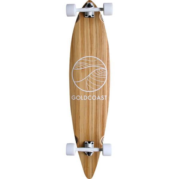 GoldCoast Zebra Complete Longboard Skateboard