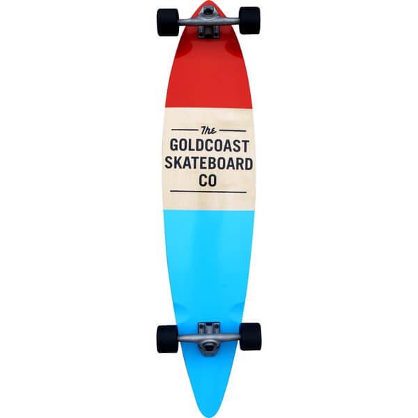 GoldCoast Standard Complete Longboard Skateboard