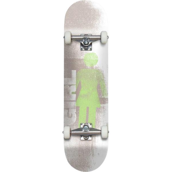 """Girl Skateboards Niels Bennett Roller Black / White Complete Skateboard - 7.75"""" x 31.5"""""""
