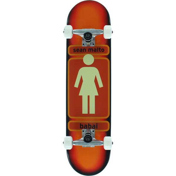 "Girl Skateboards Sean Malto 93 Til Mid Complete Skateboards - 7.5"" x 29"""