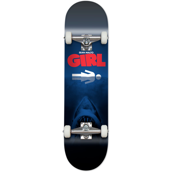 "Girl Skateboards Sean Malto Night Attack Complete Skateboard - 8"" x 31.875"""