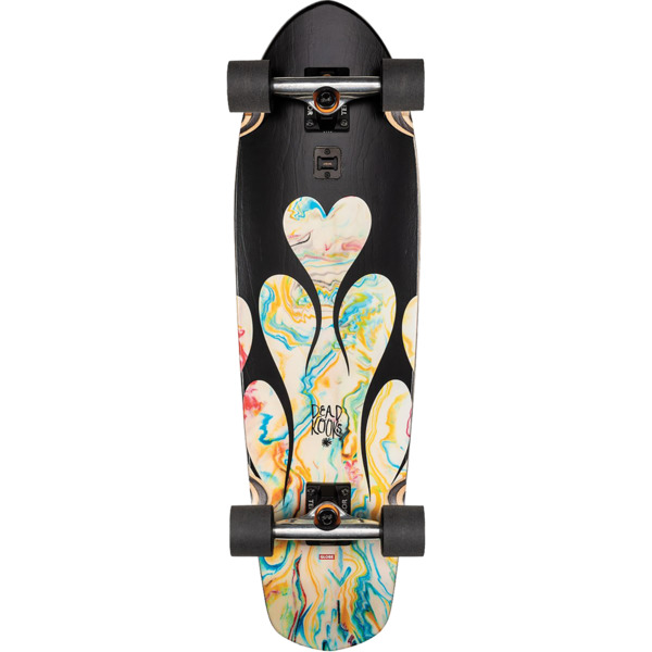 "Globe Big Blazer Dark Black / Resin Cruiser Complete Skateboard - 9.12"" x 32"""