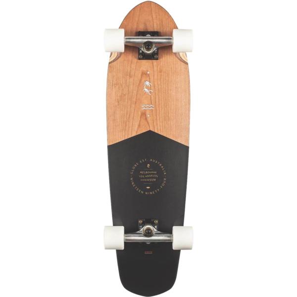"Globe Big Blazer Black Cherry Cruiser Complete Skateboard - 9.12"" x 32"""