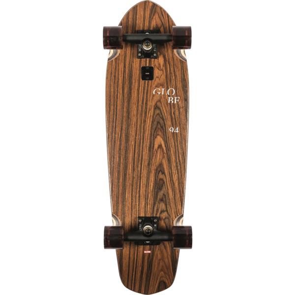 "Globe Big Blazer Rosewood / Cowprint Cruiser Complete Skateboard - 9.12"" x 32"""