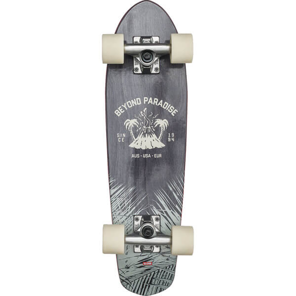 "Globe Bantam Evo Black Maple Cruiser Complete Skateboard - 6.75"" x 24"""