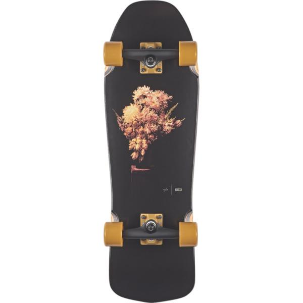 "Globe Blaster Black Shade / Mustard Cruiser Complete Skateboard - 9.25"" x 30"""