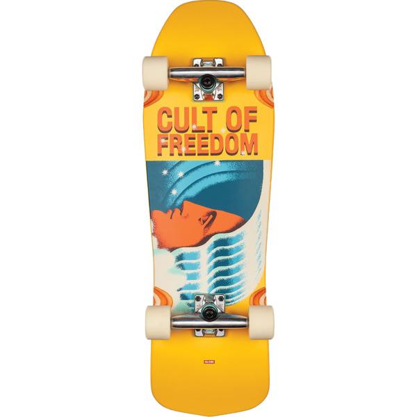 "Globe Blaster Cult of Freedom / Wavehead Cruiser Complete Skateboard - 9.25"" x 30"""