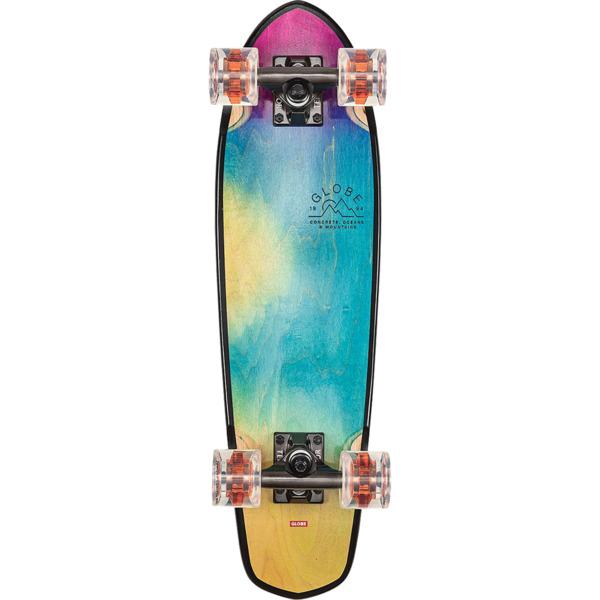 "Globe Blazer 26"" Tie-Dye Ocean Breeze Cruiser Complete Skateboard - 7.25"" x 26"""