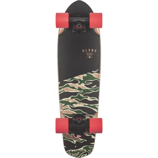 "Globe Blazer 26 Tiger Camo Cruiser Complete Skateboard - 7.25"" x 26"""