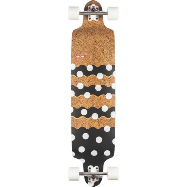"""Globe Bannerstone Cork / Dots Longboard Complete Skateboard - 9.75"""" x 41"""""""