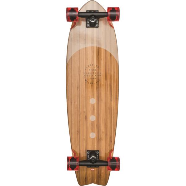 "Globe Chromantic Bamboo / Almond Longboard Complete Skateboard - 9.5"" x 33"""