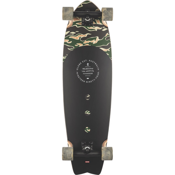 "Globe Chromantic Tiger Camo Cruiser Complete Skateboard - 9.5"" x 33"""