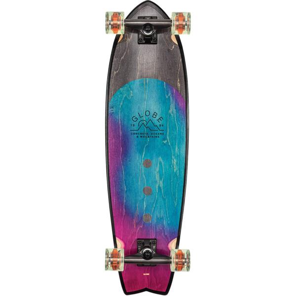 "Globe Chromantic Washed Aqua Cruiser Complete Skateboard - 9.5"" x 33"""