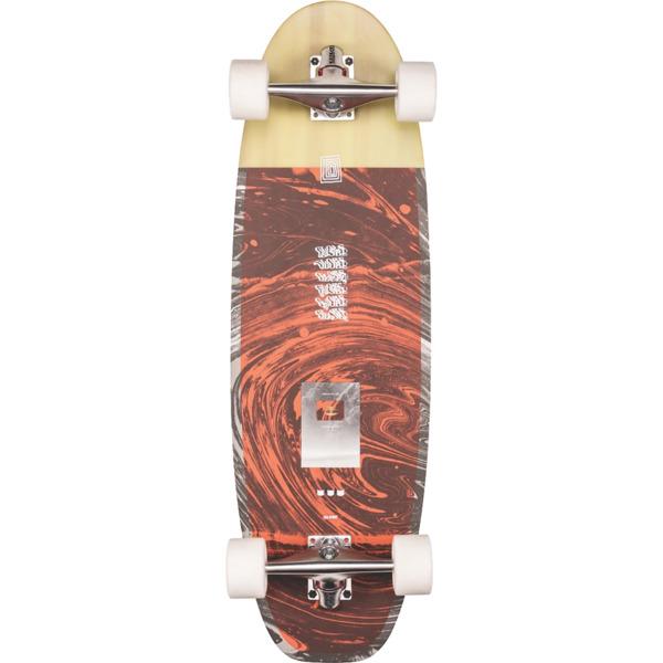 "Globe Costa On-Shore / Low Tide Cruiser Complete Skateboard - 9.6"" x 31.5"""