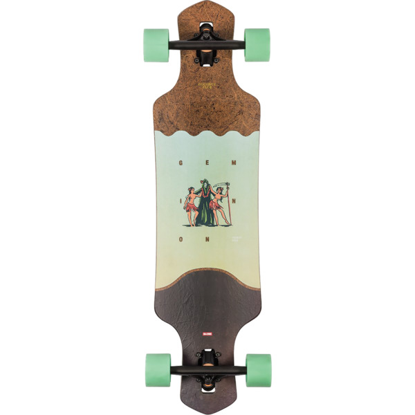 "Globe Geminon 35 Coconut / Reaper Longboard Complete Skateboard - 9"" x 35"""