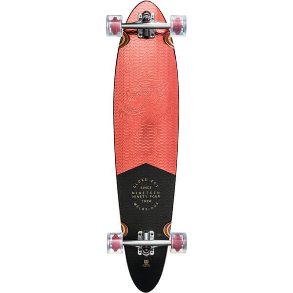 Globe Pinner Classic Longboard Complete Skateboard