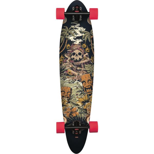 "Globe Pinner Classic Fire Island Longboard Complete Skateboard - 9"" x 40"""