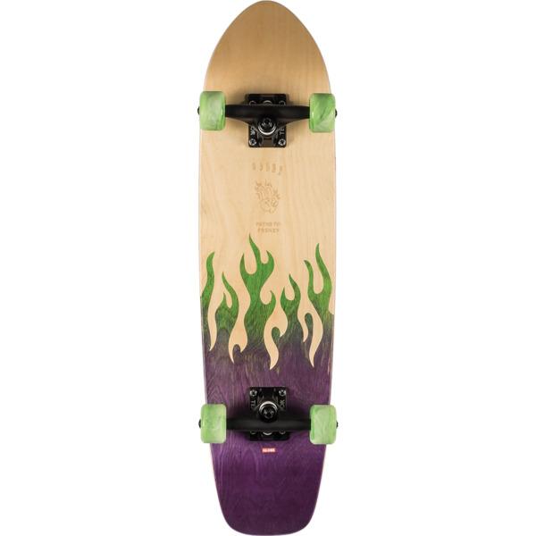 """Globe Skinny Bandit Frenzy Cruiser Complete Skateboard - 7.87"""" x 30.5"""""""