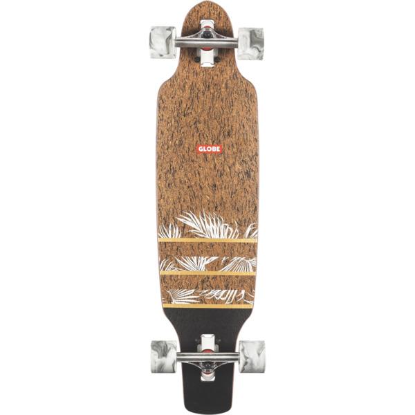 "Globe Spearpoint Mini Cork / Agave Longboard Complete Skateboard - 8.5"" x 33.5"""