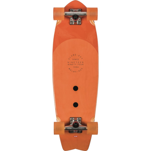 "Globe Sun City Carrot Cruiser Complete Skateboard - 9"" x 30"""