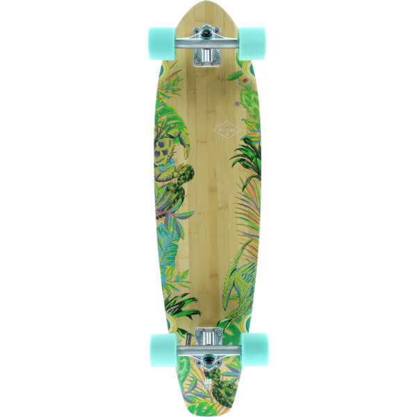 Globe The All Time Bamboo Complete Longboard