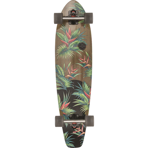 "Globe The All Time Hellaconia Longboard Complete Skateboard - 9"" x 36"""