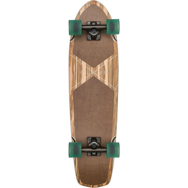 "Globe Tracer Applewood / Hemp Cruiser Complete Skateboard - 8.25"" x 31.2"""