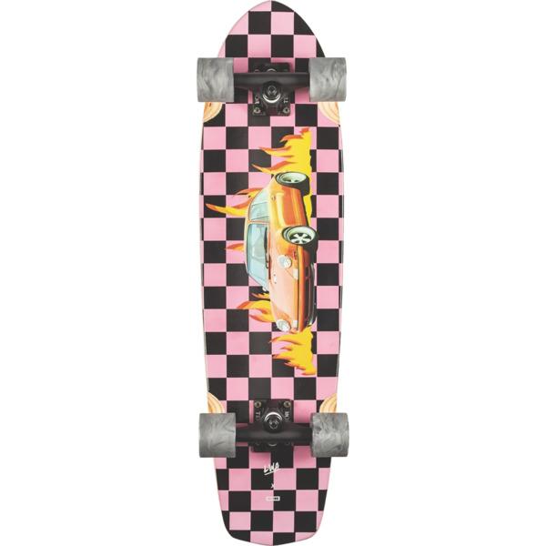 "Globe Tracer Classic LWA / Fire Longboard Complete Skateboard - 8.25"" x 31.1"""