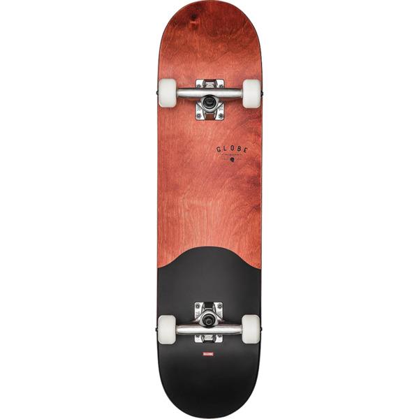 "Globe G1 Argo Red Maple / Black Complete Skateboard - 7.75"" x 31.6"""