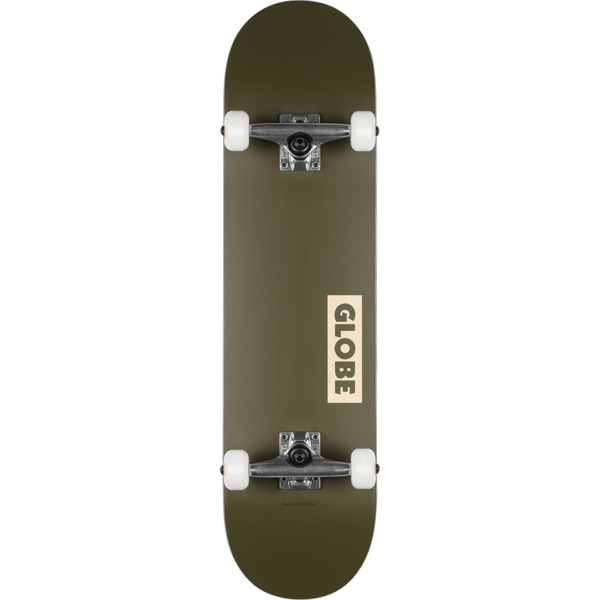 Globe Goodstock Fatigue Green Complete Skateboard 8 25 X