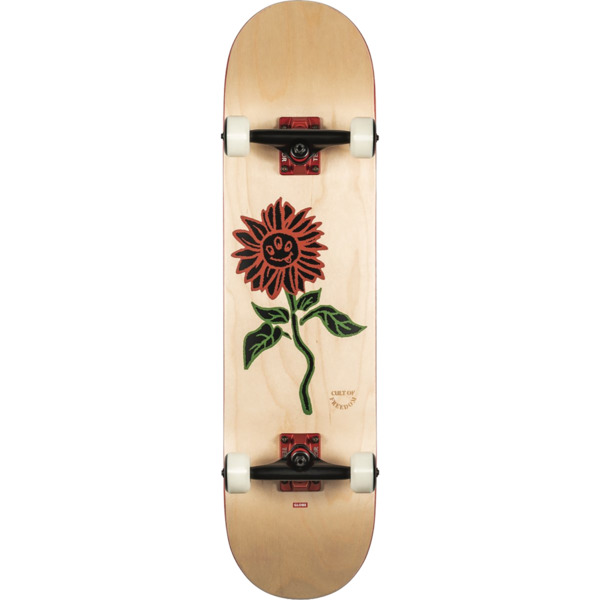 "Globe G2 Bloom Natural Complete Skateboard - 8"" x 31.63"""