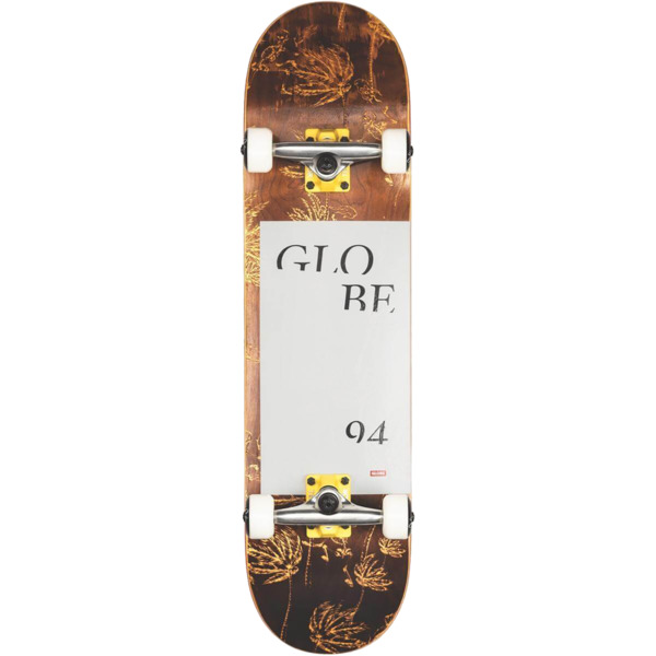 "Globe G2 Typhoon Yellow Complete Skateboard - 8"" x 31.63"""